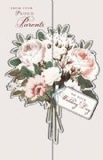 Floral Wedding Day Card